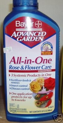 Bayer All-in-One Rose and Flower Care plant food