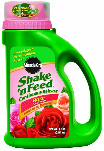 MiracleGro Shake 'n Feed Continuous Release Rose Plant Food