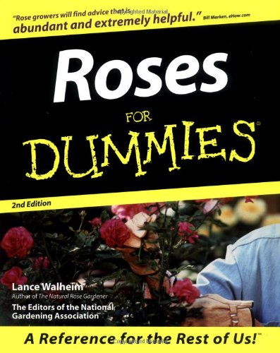 Roses for Dummies books
